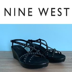 Nine West Shoes - NINE WEST Black Sandals